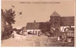 Corbeny (Craonne-Laon-Aisne)-1915 - La Ferme De La Chapelle- Route De Berrieux (Dessin)-Feldpost DER1-K.S.(voir Scan) - Craonne