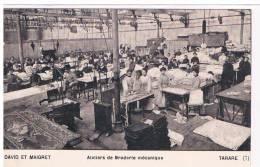 Tarare- Ateliers De Broderie Mécanique  N°7 David Et Maigret Superbe état - Tarare