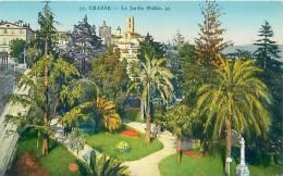 06 - GRASSE - Le Jardin Public (LL. 77) - Grasse