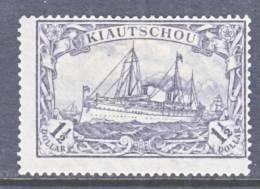 Kiauchau  41  *   Wmk. - Colony: Kiauchau