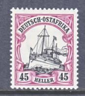 German East Africa  37  *  Wmk. - Colony: German East Africa