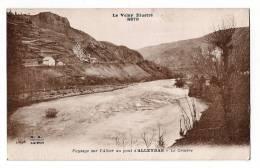 ALLEYRAS - Le Cratère - Paysage Sur L'Allier Au Pont - Ecrite En 1933 - Non Classés