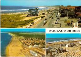 CPM N°10.33.0340 - SOULAC SUR MER 33 Gironde - 1990  MULTI Vues - Soulac-sur-Mer