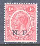 British East Africa  Occupation  N 102  ** - Nyasaland (1907-1953)