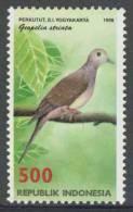 Indonesia Indonesie 1998 Mi 1844 ** Geopelia Striata: Zebra Dove / Zebraduif / Sperbertaube / Perkutut D.i. Yogyakarta - Tauben & Flughühner