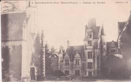 CPA 49  St-MARTIN-DU-BOIS, Château Du PERCHER.( 1904) - Autres Communes