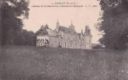 CPA 49  RABLAY ,Château De La Chauvelière, Commune De CHANZEAUX. - Autres Communes