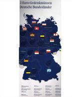 Klick-Album Für 2€-Deutschland 2006-2021 Neu 9€ Für 16x2EURO-Sondermünzen Zum Einlegen Der Verschiedenen Bundesländer-2€ - Andere Verzamelingen