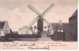 Ghistelles - Gistel.Un Moulin.Les Environs D'Ostende - Gistel