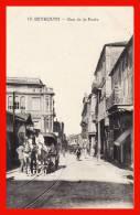Beyrouth Afrique Rue De La Poste Il Y A 92 Ans Proche Orient Diligence Chevaux Attelage édit. Deychamps Rare - Lebanon