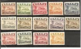 Nau Mi.Nr. 15-28/ Dampfer, Palme ** - Nauru