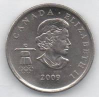 CANADA 25 CENTS 2009 - Canada