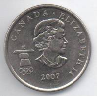 CANADA 25 CENTS 2007 - Canada