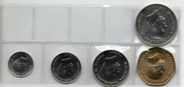 SAMOA set di 5  MONETE FDC-UNC