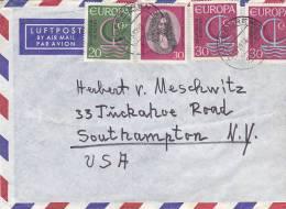 BRIEF NACH USA - Airmail