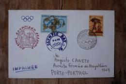 I 4  1970  HELLAS  OLYMPIC DAY 6-4-1970 - FDC