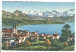 Switzerland, Luzern Und Die Alpen, Lucerne And The Alps, Mini Card [12714] - Other Collections