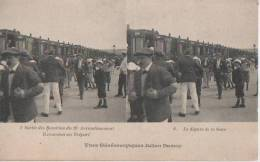 PARIS (.sortie Des Bambins Du 19eme Au Treport) - Cartes Stéréoscopiques