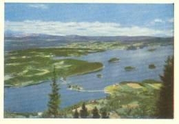 Norge, Norway, Kongens Utsikt, Ringerike, Mini Card [12724] - Other Collections
