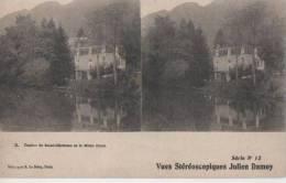 CASINO DE ST CRISTAU ET LE MONT BINET - Stereoscope Cards