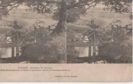 PLONEIS ( Pont Rustique Sur Le Goyen ) - Cartes Stéréoscopiques