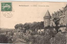 (87) ROCHECHOUART. Le Chateau Calvaire Des Allées - Rochechouart