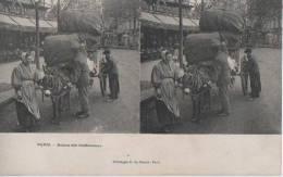 PARIS ( Retour Des Chiffoniers ) - Stereoscope Cards
