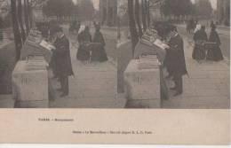 .PARIS ..(.bouquiniste .) - Cartes Stéréoscopiques