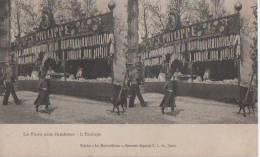 PARIS ( La Foire Aux Jambons ) - Stereoscope Cards