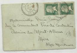 1925 - CARTE LETTRE De CRILLON (OISE) - PASTEUR - Storia Postale