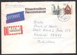 GERMANY Postal History Registered Cover From Backnang 20-5-1996 - Brieven En Documenten