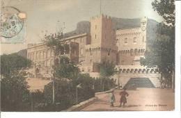 68836)cartolina Illustratoria Monaco - Palazzo Del Principe - Non Classés