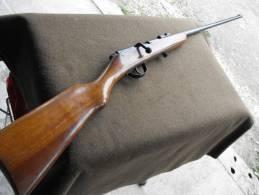 Carabine Ancienne  Marquée  22 (chambre Du 22LR) Monocoup , Pas De Fabriquant, Culasse Fumée - Andere