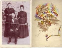Famille - Un Homme Et 2 Femmes - Photo A. Passaga - Landry & Dechavannes Paris (PH175) - Personnes Anonymes