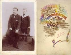 Famille - Un Homme Et Enfant - Photo A. Passaga - Landry & Dechavannes Paris (PH176) - Personnes Anonymes
