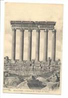 CPA - Liban - Baalbek Colonnes Du Temple Du Soleil - Lebanon