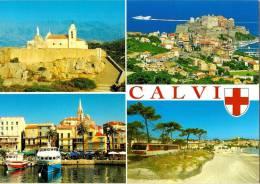 CPM - CALVI 20 2B Haute Corse - 2009 Multi Vues - Calvi
