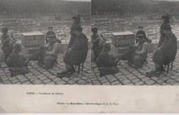 PARIS ( Tondeurs De Chiens ) - Cartes Stéréoscopiques