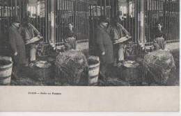 PARIS ( Halles Au Poisson ) - Cartes Stéréoscopiques