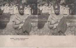 PARIS ( Jardin D'acclimatation..jeune Fille Achanti. ) - Stereoscope Cards