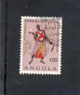 ANGOLA : Danseur Quissima - Folklore - Coutume - Culture -Tradition - Danse - - Angola