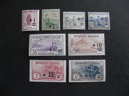 TB Série N° 162 Au N° 169, Neufs X . - Nuevos