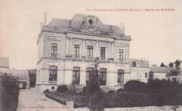 CPA 49  LES ROSIERS ,la Mairie. - Saumur