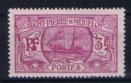St. Pierre Et Miquelon: Yv 131 MH/*, Maury Cat Value € 24 - St.Pierre & Miquelon