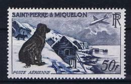 St. Pierre Et Miquelon: Yv  Aero 24 MH/*, Maury Cat Value € 60 - Ongebruikt