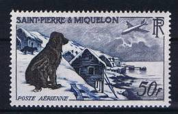 St. Pierre Et Miquelon: Yv  Aero 24 MH/*, Maury Cat Value € 60 - Luchtpost