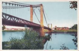 CPA 49  LES ROSIERS ,le Pont . (CIM) - Saumur