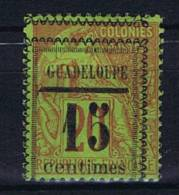 Guadeloupe : Yv  8 MH/* , Maury Cat Value € 40 - Guadalupe (1884-1947)