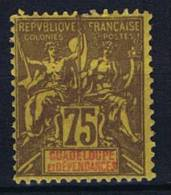 Guadeloupe : Yv  38 MH/*, Maury Cat Value € 41 - Guadeloupe (1884-1947)