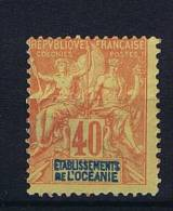 Oceanie : Yv  10 Not Used (*)   , Maury Cat Value € 165 - Unused Stamps